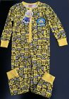 Girls Kids Despicable Me Minions All In One Pyjamas Onesie Sleepsuit  By Primark