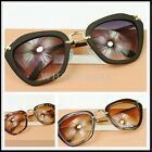 Retro Womens Vintage Fashion Cat Eye Sunglasses Anti-UV Glasses W5053 FKS