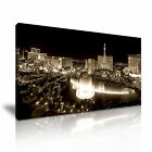 Las Vegas CITYSCAPE USA 8 1-21 Canvas Framed Printed Wall Art ~ More Size