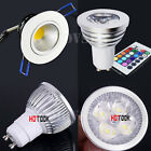 Dimmable 3W 4W 5W Warm/Cool White/RGB LED Spotlight Recessed Ceiling Downlight