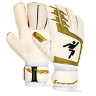 Precision Schmeichology 4 Finger Protection Goalkeeper Gloves Flat Palm