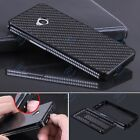 Luxury Aluminum Metal Carbon Fiber Material Panel Cover Case For HTC One M7