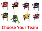 Officially Licensed NFL Team Stadium Seat Ornament Choose Your Team $11.99 USD on eBay