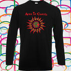 New Alice in Chains Logo Long Sleeve Men's Black T-Shirt Size S to 3XL