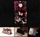 Butterfly Luxury Wallet Flip wallet card leather case f SamSung Iphone Nokia G10