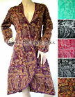 4Colour Fluffy COAT Smoking Jacket STEAMPUNK Boho VICTORIAN Hippy Manga S M L XL
