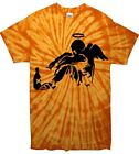 BANKSY FALLEN ANGEL TIE DYE T-SHIRT - Festival - Choice Of Colour