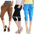 New Fashion Women's Lady Stretch Colorful Drape Harem Pants Hip-Hop Trousers C9D