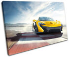 McLaren P1 Cars SINGLE CANVAS WALL ART Picture Print VA