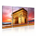 FRANCE 8 Europe Cityscape 3B Framed Print Canvas Wall Art~ 3 Panels