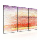 ART Abstract Illusions 35 Canvas 3A Framed Printed Wall Size ~ 3 Panels