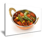 FOOD & DRINK Spice/Pepper 65 1L Framed Print Canvas Wall Art~ More Size