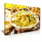 FOOD & DRINK Asia Food Indian Food 9 1L Framed Print Canvas Wall Art~ More Size