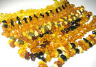 BALTIC AMBER GEMSTONE ANKLET/BRACELET 10&1/2-11 INCH - Choose your color