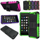 For Amazon Fire Phone 2014 Version Hard Soft Hybrid Rugged Armor Kickstand Case