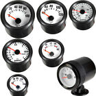 "Black 2"" 52mm Boost Vacuum Water Oil Temp Press Volt Tacho Gauge Pointer W8"