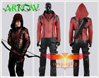 Green Arrow season 3 Arsenal Roy Jacket Pants Arrow Bag Belt Cosplay Costume lot
