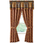 Collections Etc Vienna Window Curtain Panel Drapes