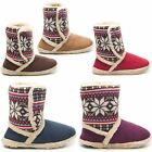 NEW LADIES COOLERS FAUX FURRY LINED VELCRO FASTENING WARM WINTER SLIPPERS UK 3-8