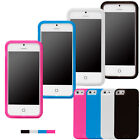 Full Protect Clear Flip Touch Screen Gel Silicone Case Cover for iPhone 5 5G