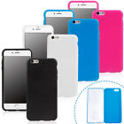 Full Protect Clear Flip Touch Screen Gel Silicone Case Cover for iPhone 6/6 Plus
