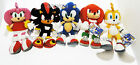Peluche Sonic e amici SEGA ORIGINALI Amy Miles Prower Shadow Knuckles 31 cm