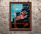 Remember December 7th - Reproduction US WWII Propaganda Poster ww2