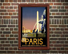 Paris #5 - Reproduction Vintage Travel Poster
