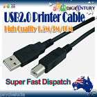 High Quality USB 2.0 A To B Male Extension Printer Cable Cord 1.5M/3M/5M/10M
