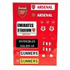 Football Club Sticker Set Official Licensed Product Inc Arsenal, Manchester