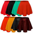 NE PEOPLE Basic High Waisted Stretchy Flared Mini Skater Skirt 12 Colors NEWSK14