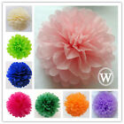 30pcs Tissue Paper Poms Wedding Party Home Outdoor Flower Balls Decoration