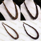 Red Flame Jasper Picasso Jasper Gemstone Stone Chain Choker Necklace Jewelry
