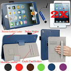 Smart Case Cover Stand W/ Hand Strap For All Models Ipad Mini + Accessories Gift