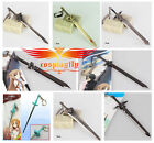 Sword Art Online Kirito&Asuna Sword Models Key Bag Chain Gift 15CM