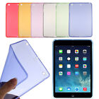Soft Gel TPU Skin Silicone Back Case Cover for iPad mini 1 2 3 Retina Hoc