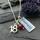 Personalised 18th Birthday Necklace, Personalised Jewellery, 18th Gift, 21st