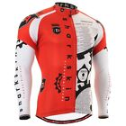 FIXGEAR CS-g401 Men's Cycling Long Jersey Custom Design  Road Bike MTB cycle Top