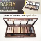 City Color Barely Eyeshadow Palette- Natural & Nude Tone Color Eye Shadow *US