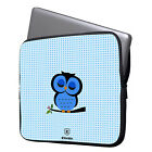"Owl 11-15.6"" Laptop Ultrabook Sleeve Case Bag For MacBook Pro Air Acer HP Dell"
