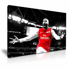 Thierry Henry Canvas Footall Icon Modern Home Office Canvas Art Box ~ from 12.99