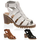 NEW WOMENS SUMMER LADIES CROSS STRAPS CLEATED GRIP SOLE SANDALS SHOES SIZE 3-8