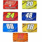 NASCAR 3x5 Number and Signature Flags
