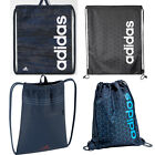 NEW ADIDAS GYM SACK DRAW STRING PE SCHOOL GYM BAG WOMENS MENS GIRLS BOYS