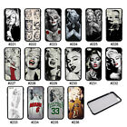 Pretty Marilyn Monroe TPU Frame Hard Back Case Cover for iPhone 6S / Plus