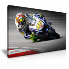 Valentino Rossi Sports Canvas Wall Art Print Home Office Deco 9 sizes from 12.99