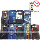 Samsung Galaxy A5 case, Rubber back cover, jeans patterns + Free screen guard