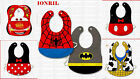 Baby Boy Girl Costume Feeding Bib Minnie Mickey Mouse Clubhouse Disney Superhero