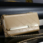 Apple Iphone 5 And 6 Women Leather Phone Wallet Case Clutch Purse