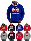 Union Jack Hoodie Team Great Britain Flag GB Sweatshirt - Smartphone Compatable